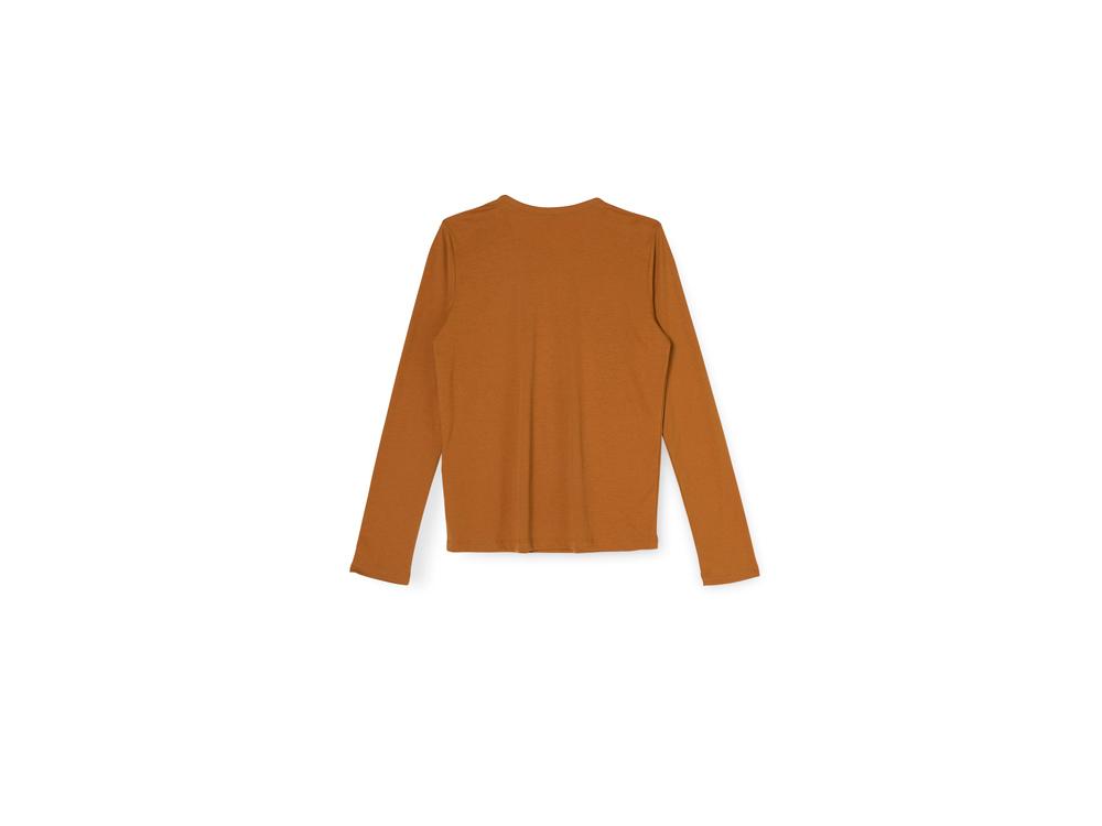 긴팔 티셔츠 오렌지 색상 이미지-S14L10