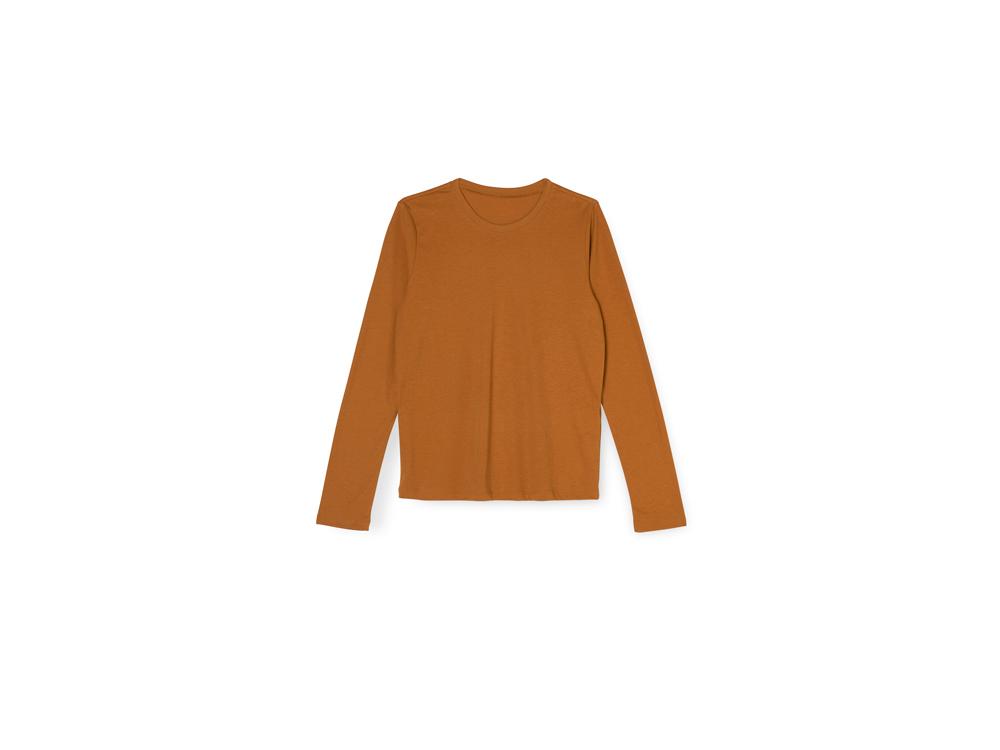 긴팔 티셔츠 오렌지 색상 이미지-S14L8